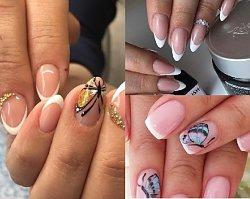 Manicure 2018: French glamour manicure idealny na ślub! Zobacz propozycje dla panny młodej