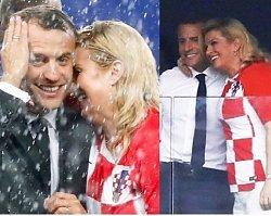 Emmanuel Macron i pani prezydent Chorwacji mają się ku sobie?! Te zdjęcia z finału Mundialu są hitem sieci!