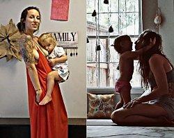 Ćwiczy jogę i równocześnie KARMI DZIECKO PIERSIĄ! Nie uwierzycie, co ta mama potrafi zrobić z ciałem!