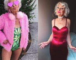Obnaża ciało, składa usta w dziubek. Poznajcie 90-latkę, która ZAWOJOWAŁA internet!