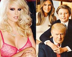 Zanim poszedł z nią do łóżka, pokazał jej zdjęcie żony i małego synka! Gwiazda porno zdradza sekrety Trumpa. Opowiedziała nawet o kształcie penisa!