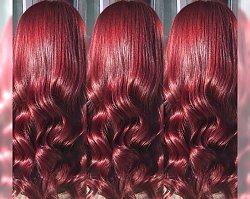 Red velvet hair to HIT jesieni w koloryzacji włosów!