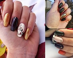 20 propozycji na jesienny manicure - galeria pięknych stylizacji