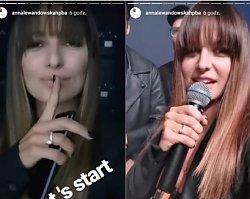 Nowe zdjęcia Anny Lewandowskiej w NOWEJ FRYZURZE! Wow, wygląda jak nastolatka!