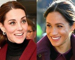 Meghan Markle i Kate Middleton w niemal takiej samej stylizacji! Która wygląda lepiej?