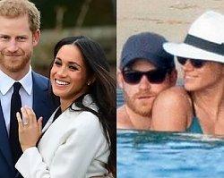 Umięśniony Harry i roznegliżowana Meghan. Jak wyglądały PIERWSZE WAKACJE książęcej pary?