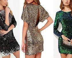 Cekinowa sukienka to hit sylwestra 2018. Oto 10 najpiękniejszych modeli z sieciówek i sklepów internetowych