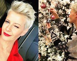 Choinka Rozenek to jeszcze nic! Drzewko Małgorzaty Kożuchowskiej to dopiero elegancja i przepych!