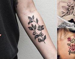 Tatuaże inspirowane naturą – modne wzory 2019!