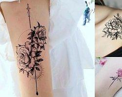 Tatuaż z motywem róży - 37 najciekawszych wzorów dla kobiet