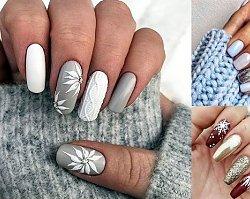 20 zimowych pomysłów na stylowy manicure - trendy 2018/2019