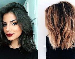 21 propozycji na półdługą fryzurę - galeria najpiękniejszych cięć