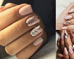 16 pomysłów na manicure ze złotymi zdobieniami [GALERIA]