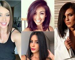 Średnie fryzury - wygodne i ponadczasowe cięcia włosów do ramion, za którymi szaleją dziewczyny z Instagrama!