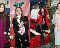 Gwiazdy w wiosce św. Mikołaja. Gosia Socha przyszła z córkami, Anna Czartoryska z ciążowym brzuszkiem