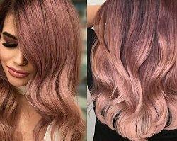 Rose gold ombre – koloryzacja dla brunetek, którą pokochasz od pierwszego wejrzenia
