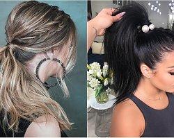 Kucyk i koński ogon - najpiękniejsze fryzury na sylwestra