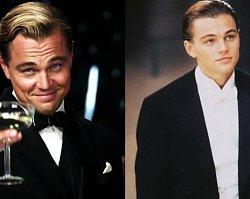 Leonardo DiCaprio próbował wtopić się w tłum, ale i tak wypatrzyli go paparazzi! Niezbyt elegancka ta stylizacja...