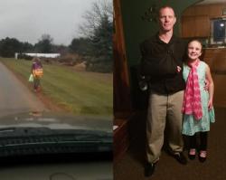 Ojciec 10-letniej dziewczynki kazał jej samej iść na piechotę do domu. Akt BESTIALSTWA wobec dziecka?