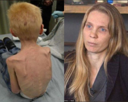 Wstrząsające traktowanie 5-letniego dziecka... Ważył zaledwie 13 kilogramów...