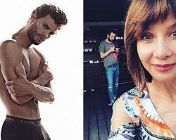 Grażyna Wolszczak pokazała syna! Fani: Wygląda jak Christian Grey!
