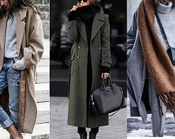 Zimowe stylizacje z płaszczem. Minimalistyczne zestawy są na topie!