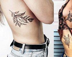 21 propozycji na tatuaż w okolicy żeber dla kobiet! [GALERIA]
