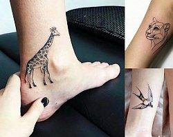 Animal tattoo - galeria niesamowitych wzorów, które skradną Ci serce!