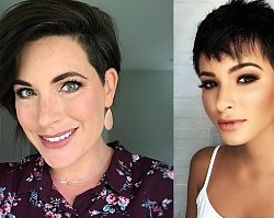 Krótkie fryzury dla brunetek i szatynek - odsłony 2019
