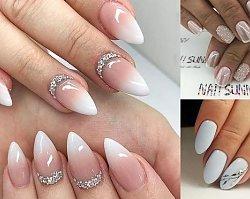 Modny manicure dla panny młodej – trendy 2019