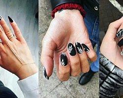 Czarno-biały manicure - 18 stylowych zdobień
