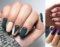 Matowy manicure - 20 nietuzinkowych zdobień paznokci