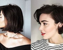Krótkie i półkrótkie fryzury - galeria najlepszych cięć dla brunetek i szatynek