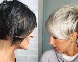 Fryzury damskie 50+. Krótkie fryzury dla dojrzałych kobiet, które odejmują lat!
