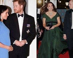 Meghan Markle nie chce ubierać się jak księżna Kate, choć ta jest na dworze ikoną stylu!
