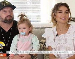 """Natalia Siwiec PIERWSZY RAZ z córką Mią w """"DD TVN""""! Jak wypadła podczas telewizyjnego debiutu?"""