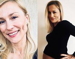 """Sylwia Juszczak pochwaliła się CIĄŻOWYM BRZUSZKIEM. """"Mówią, że ciąża po 40-tce jest trudniejsza"""""""