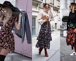 Ubrania w kwiaty to wielki trend wiosennej mody 2019. Zobaczcie, z czym je zestawić