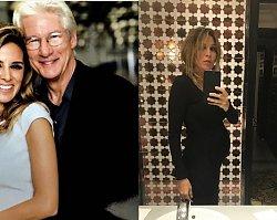 Blisko 70-letni Richard Gere znowu w pieluchach! Jego 35-letnia żona urodziła synka!