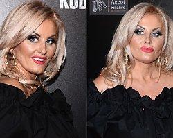 """Premiera """"Kobiet mafii 2"""": Dagmara Kaźmierska debiutuje na ściance! Jej dłonie ociekały złotem"""
