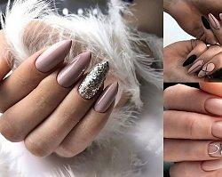 18 najpiękniejszych pomysłów na nude manicure! [galeria]