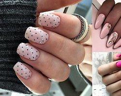 Różowy manicure - 26 ślicznych zdobień, które skradną Ci serce