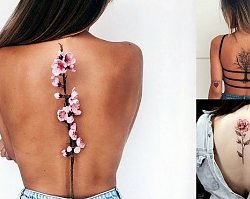 Tatuaże na plecy - 29 urzekających wzorów dla dziewczyn