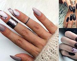 Marmurkowy manicure w różnych wariantach kolorystycznych! [GALERIA]