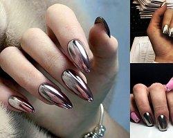 Metallic manicure - 15 wyjątkowych zdobień paznokci