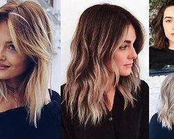Cięcia dla włosów średniej długości - galeria ultrakobiecych fryzur, którym ciężko się oprzeć!