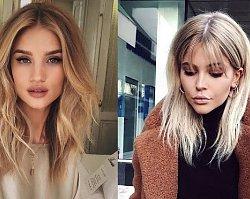 25 modnych cięć dla blondynek o półdługich włosach