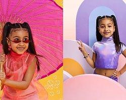 """Pięcioletnia córka Kim Kardashian doczekała się pierwszej okładki! Ma być """"wzorem dla nowego pokolenia""""!"""