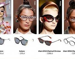 Modne okulary przeciwsłoneczne wiosna lato 2019. Modele inspirowane trendami z wybiegów