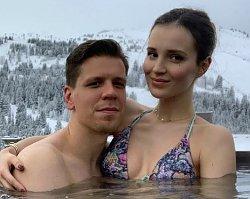 Marina Łuczenko dodała nowe zdjęcie. Fani coś zauważyli: Ile ty masz wzrostu?